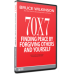 70x7 Finding peace by forgiving others - Intro Group Set (DVD + 5 Workbook Combo)