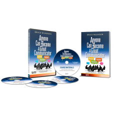Anyone can become a great communicator - Intro Group Set (DVD + 5 Workbook Combo)