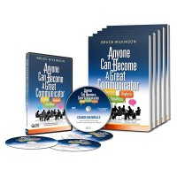 Anyone can become a great communicator - Class Room Set (DVD + 20 Workbook Combo)